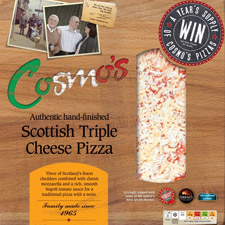 This month's featured pizza