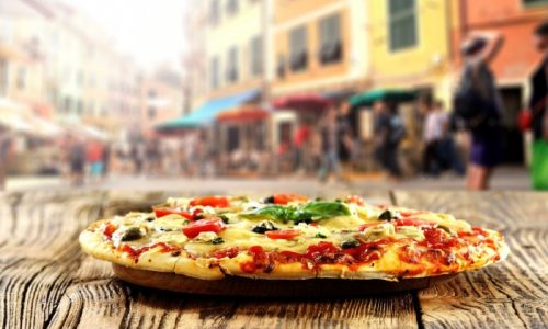 A Pizza - Italy